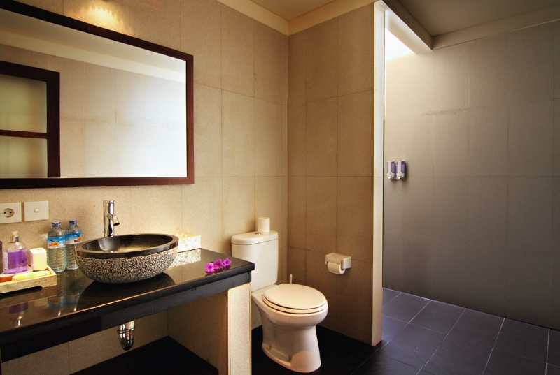Luxuriously appointed ensuite bathrooms