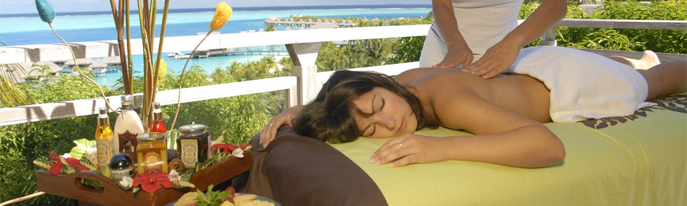 Enjoy a massage at the Gili Pearl Villa